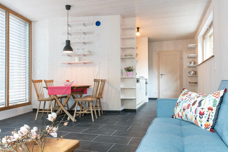 Essecke und Sofabereich