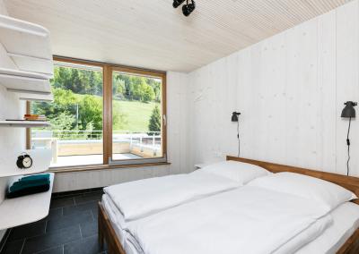 Schlafzimmer mit Aussicht