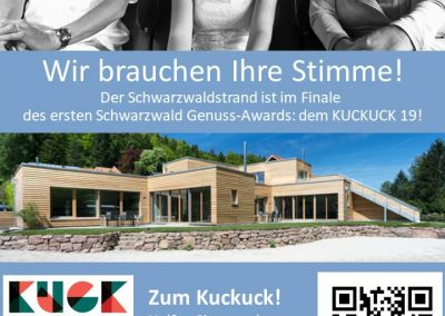 kuckuck19 Schwarzwaldstrand Anzeige Seite 1