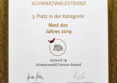 kuckuck19 Award Schwarzwaldstrand